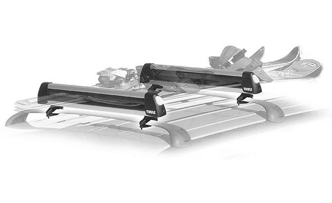 thule flat top ski carrier
