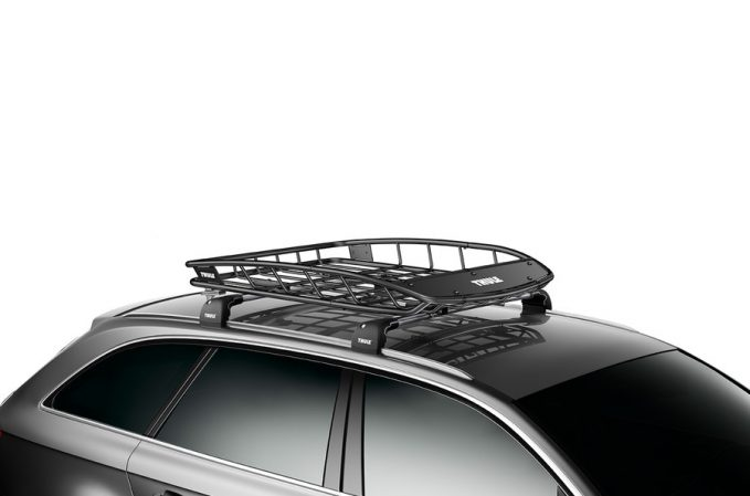 thule roof basket