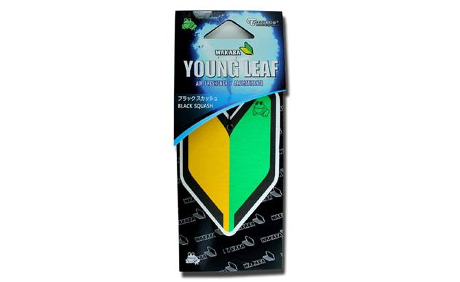 treefrog wakaba young leaf air freshener