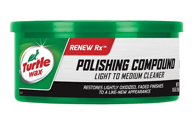 turtle wax polishing compound and scratch remover