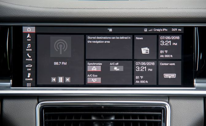 Video: Does the Porsche Panamera Have the Best Infotainment