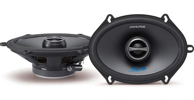 alpine sps-517 type-s speakers