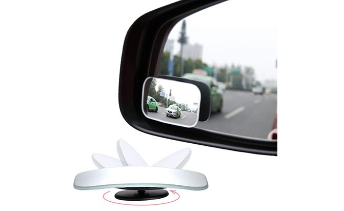 amfor rectangle blind spot mirrors