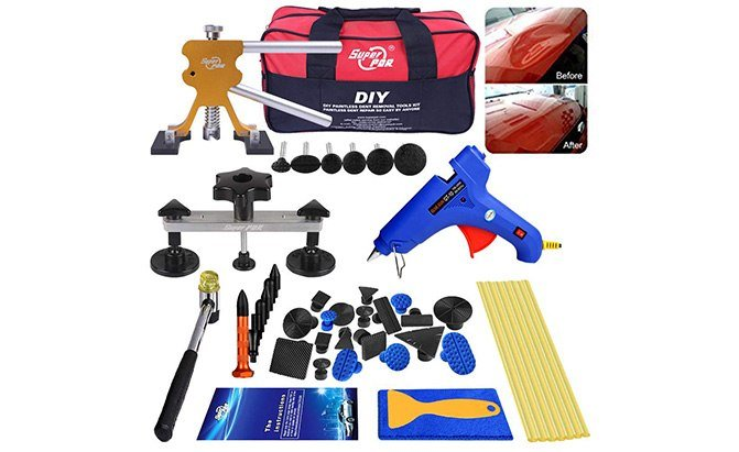 autopdr 40-piece paintless dent removal tool kit