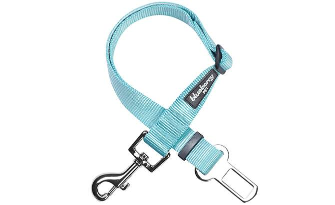 blueberry pet classic dog seat belt