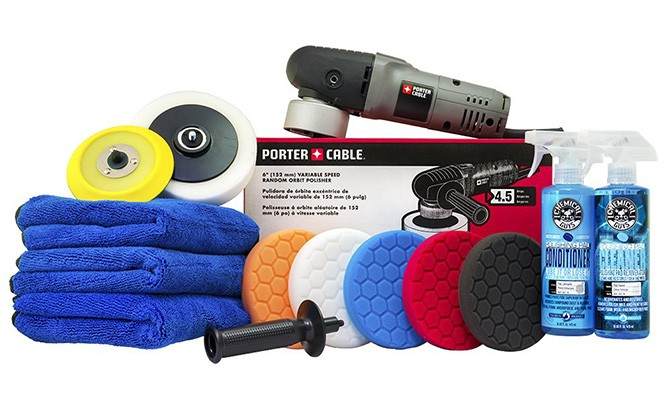chemical guys buf porter cable detailing kit