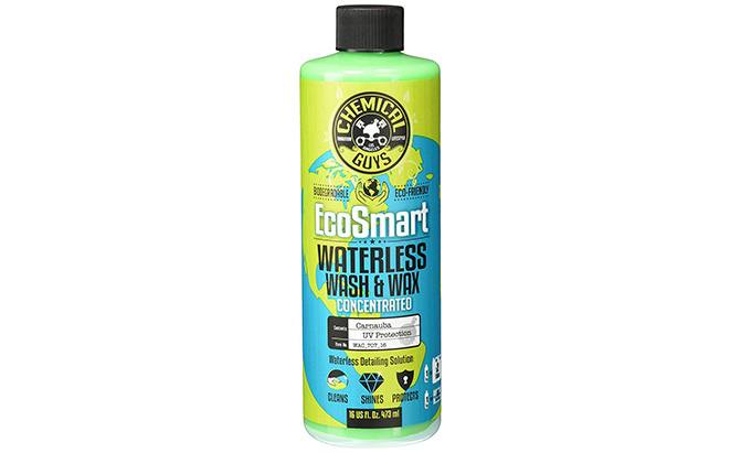 chemical guys ecosmart hyper concentrated waterless car wash and wax