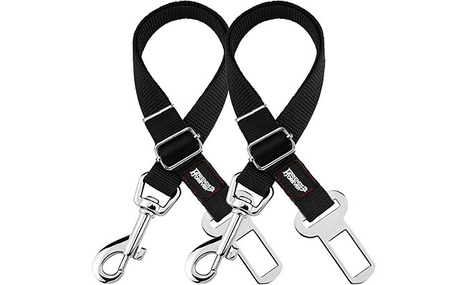 friends forever adjustable pet seat belt