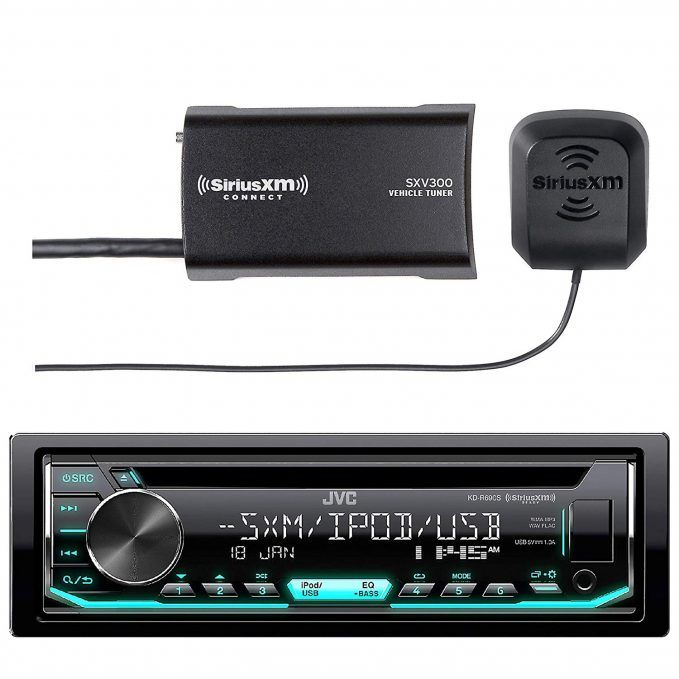 xm radio receivers for cars