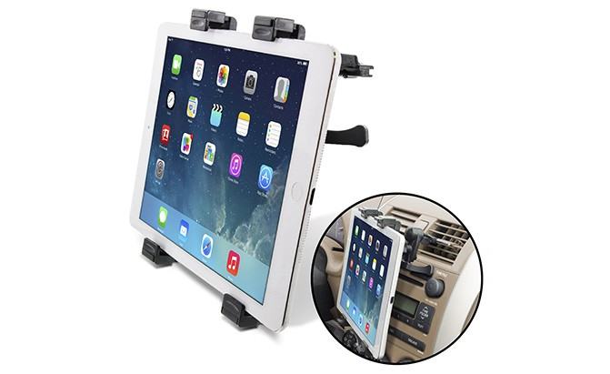 okra universal air vent tablet car mount holder