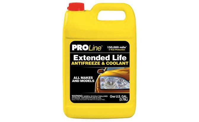 proline extended life antifreeze coolant