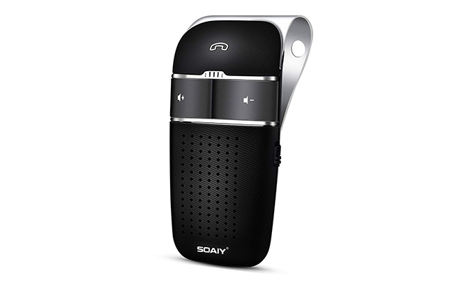 soaiy s-32 voice command hands-free bluetooth car kit