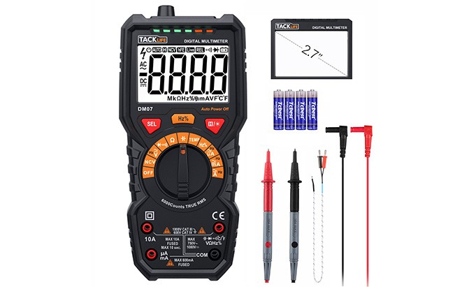 tacklife dm07 multimeter