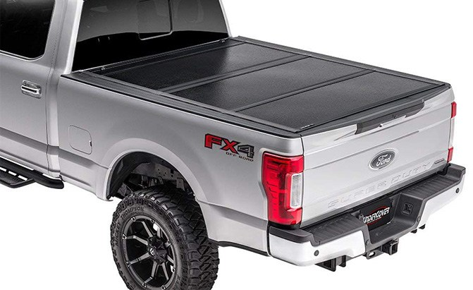 undercover flex hard folding truck bed tonneau cover