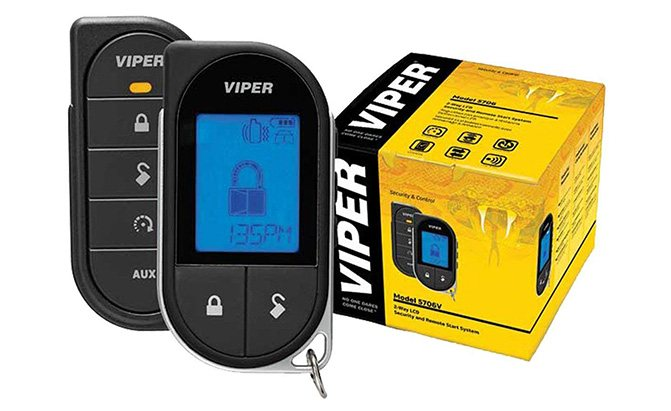 viper 2-way car security with remote start system