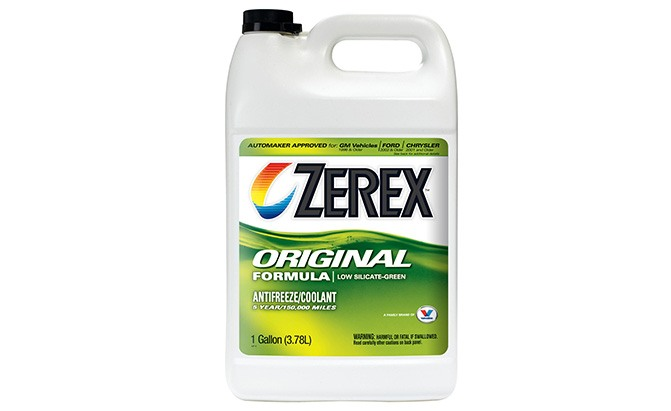 zerex original green antifreeze coolant