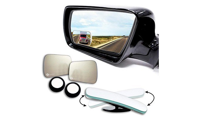zone tech square blind spot mirrors