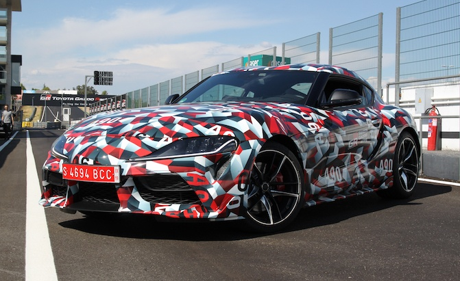 Manual Toyota Supra Could Arrive in Right Hand Drive Markets
