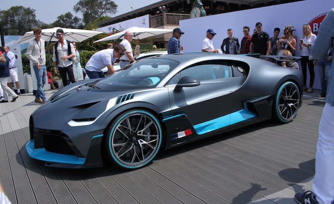 Report Bugatti Considering All Electric Model Chiron Ss