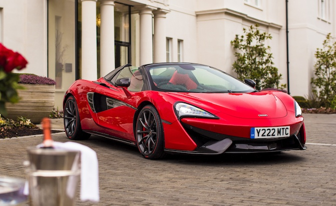 Mclaren 600lt Spider Coming For 2019 Autoguide Com News