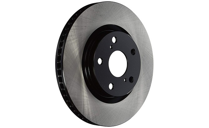 centric parts premium brake rotor with e-coating