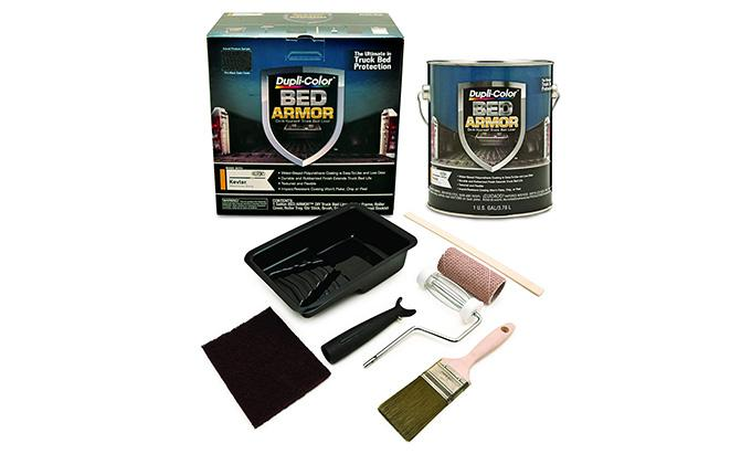 dupli-color bed armor truck bed liner kit