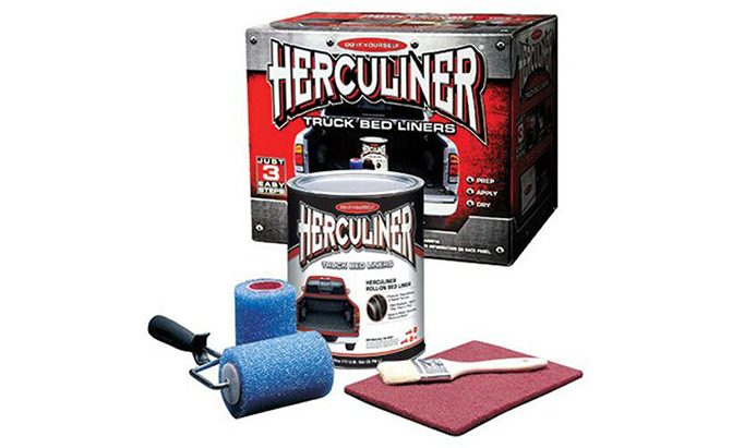 herculiner brush on bed liner kit