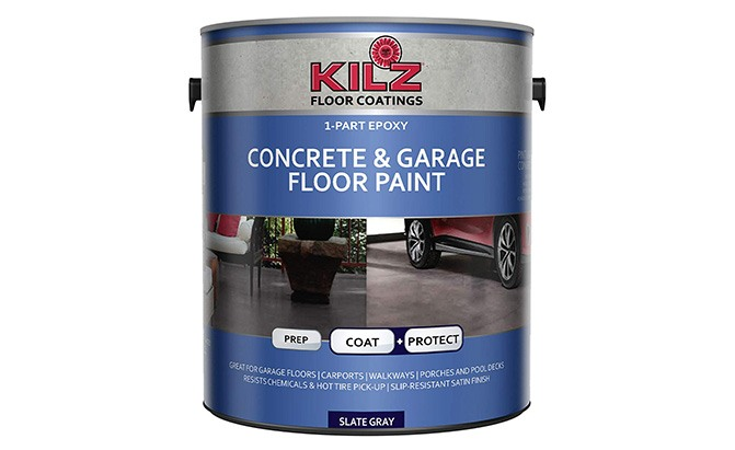 kilz 1-part epoxy garage floor paint