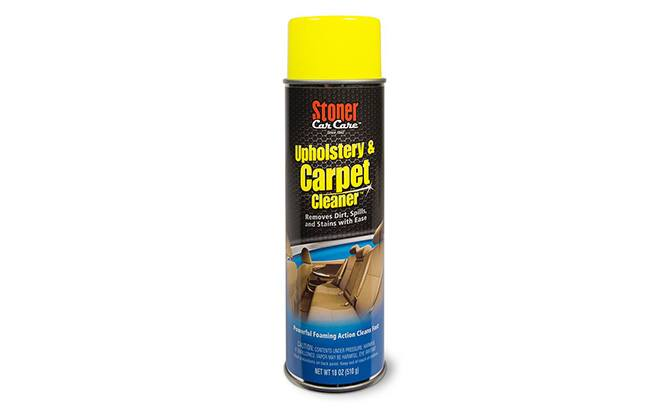 stoner car care upholstery and carpet cleaner