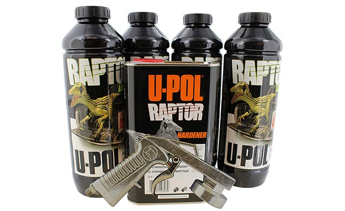 u-pol bed liner kit