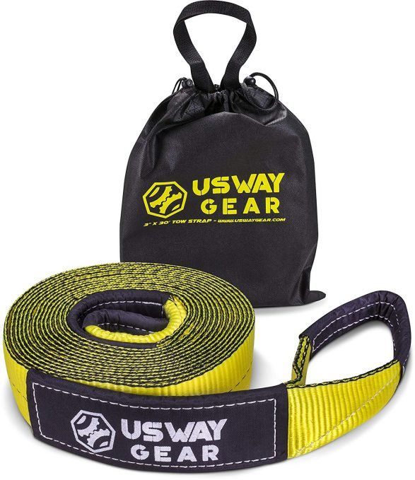 usway gear tow strap