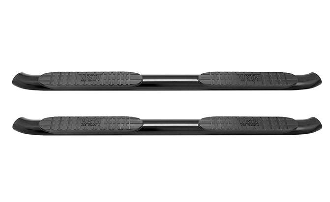 westin black pro traxx 4 oval step bar