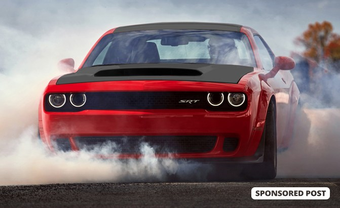Want to stand out and help someone get a job? And have a chance to win a Supercharged Hemi Dodge Challenger SRT DEMON?