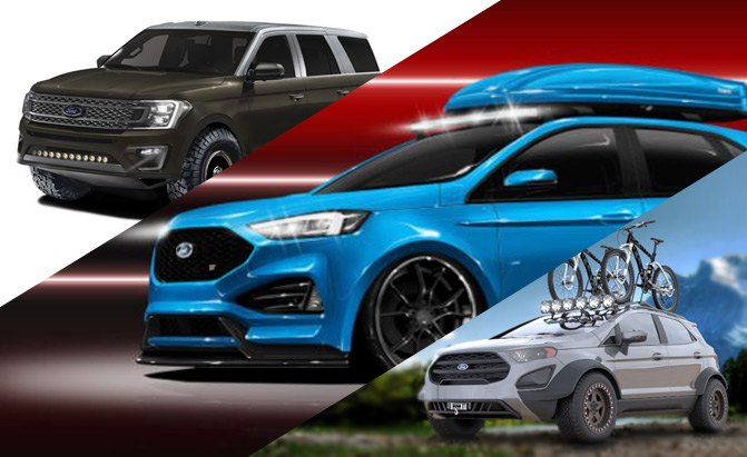 Ford Showcasing a Range of Modified SUVs at SEMA Show