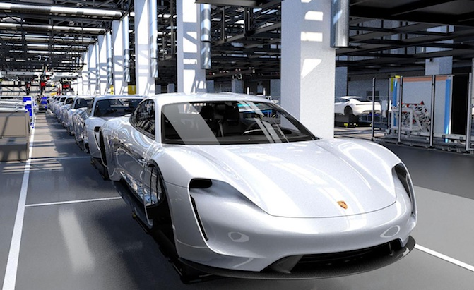 Prices For Electric Porsche Taycan May Start At Around 92k