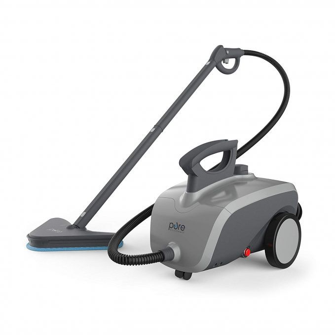 Here's another steam cleaner we really like because it seems to have it all. The PureClean XL is a 1500W steamer with 18 attachments that should deliver 45 ...