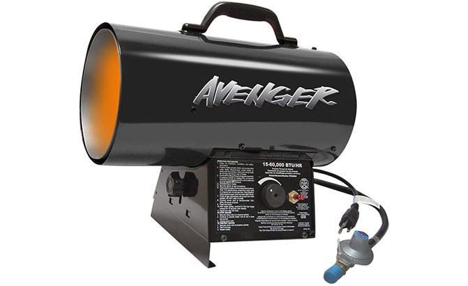 avenger fbdfa60v portable best garage heaters