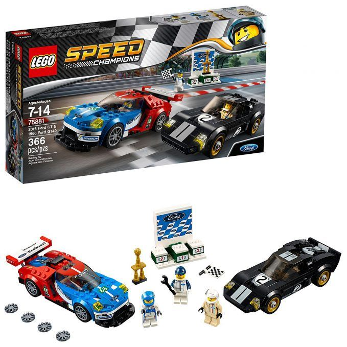lego speed champions ford gt ford gt40 building kit