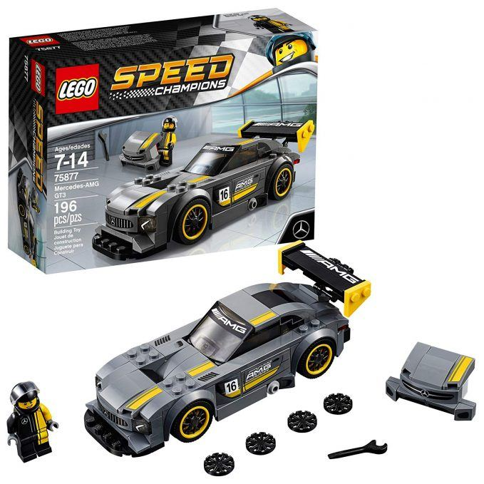 lego speed champions mercedes-amg gt3 building kit