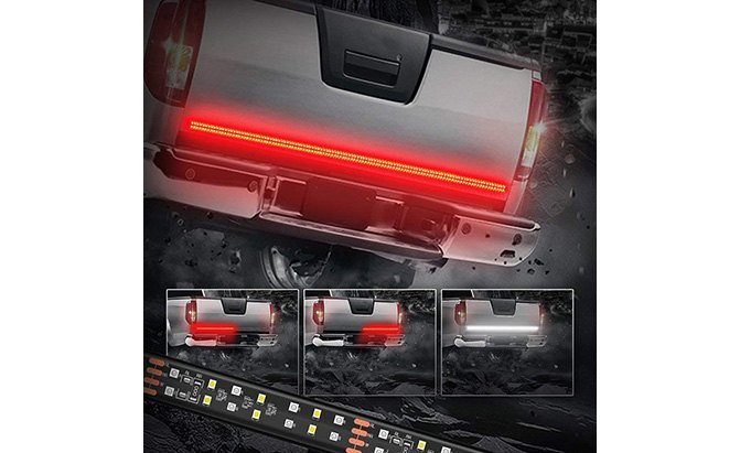 mictuning 2-row led tailgate light bar