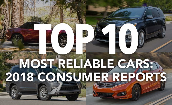 Top 10 Most Reliable Cars 2018 Consumer Reports