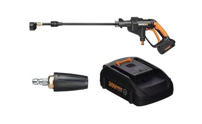 worx wg629 cordless hydroshot portable power cleaner