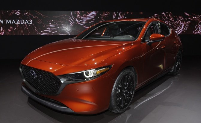 New Mazda3 Lands With Skyactiv X Engine Available Awd Autoguide