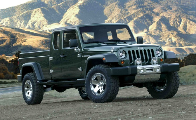 Jeep Wrangler Pickup Truck Could Be Called Gladiator Not Scrambler