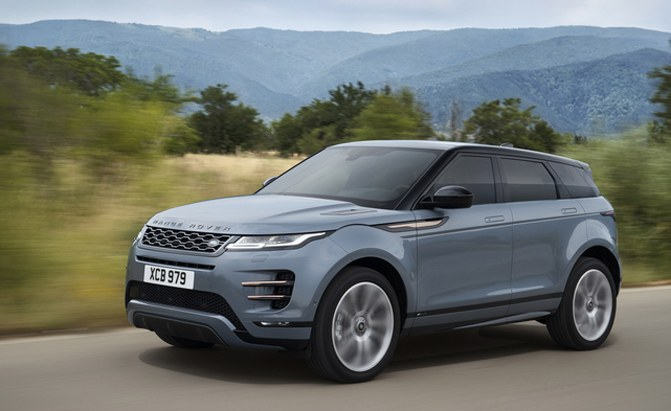 All-New Range Rover Evoque Debuts Looking Like a Little Velar