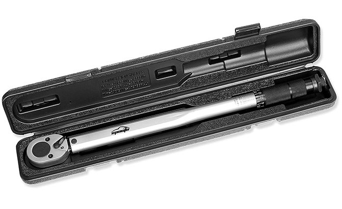 epauto 1/2-inch drive click torque wrench