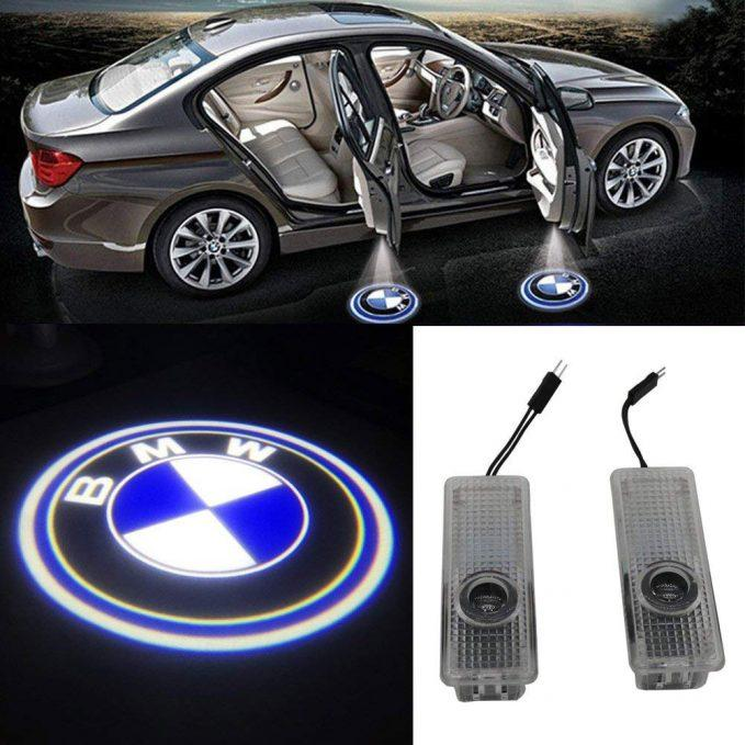 grolish 2-piece car door led welcome lights
