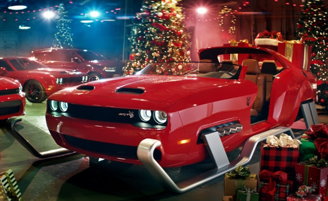 Is This Hellcat Santa Sleigh Amazing or Awful?