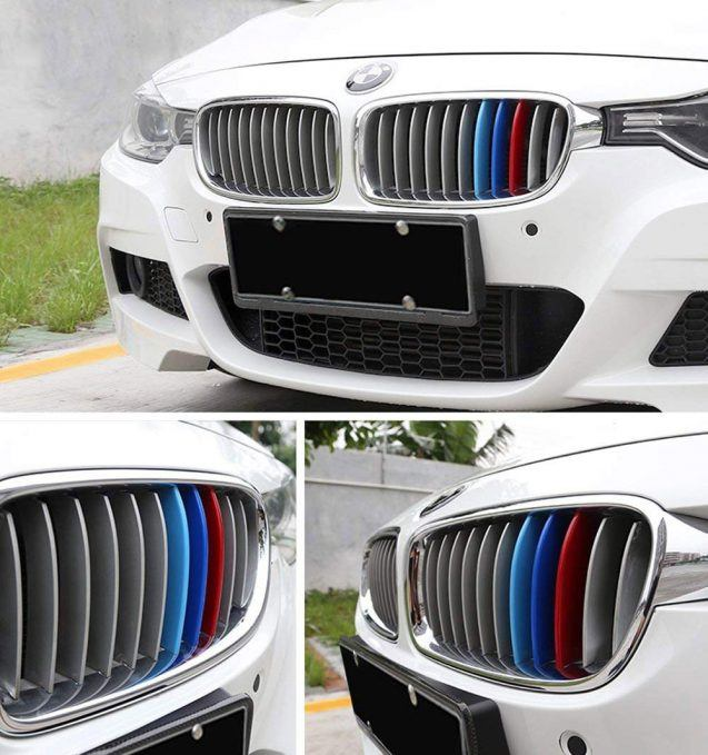 ijdmtoy m colored grille insert trims