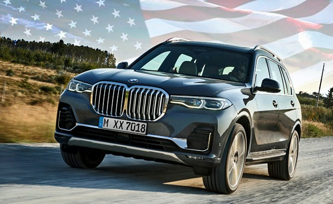 The BMW X7 Was Designed Specifically for U.S. Market